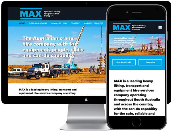 MAX Cranes - Ivolution Consulting